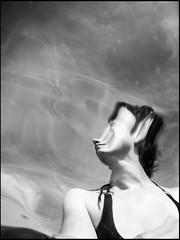 20130715-446 (sulamith.sallmann) Tags: sea people bw woman blur france female self myself person blurry frankreich meer wasser europa menschen atlantic waters sw normandie frau baden unscharf manche fra unsharp personen selbst atlantik mensch verschwommen lahague verzerrt bassenormandie gewsser unschrfe siouville sulamithsallmann