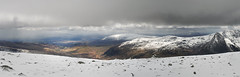 Wintry Carneddau 10 (Ice Globe) Tags: winter panorama white mountain snow mountains cold nature wales 35mm landscape frozen nikon view y snowy scenic panoramic views snowing icy snowdonia moel tryfan wintry dafydd goch siabod carneddau foel landsacpes d5100 carndedd