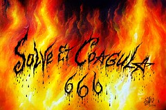 Solve et Coagula - hellish fire (Sofia Metal Queen) Tags: red hot art yellow fire artwork magic fineart hell 666 hellish satanism magical satanic hellfire solve blackmagic coagula solveetcoagula