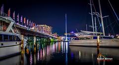 Sydney Harbour (RajeshMannanPhotography) Tags: sea night lights harbor harbour sydney australia nightlight