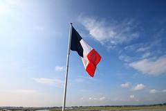 Le Mont Saint-Michel (lukedrich_photography) Tags: france history canon frankreich europa europe european flag culture unesco worldheritagesite normandie normandy francia westerneurope montsaintmichel   rpubliquefranaise    frenchrepublic             t1i canont1i