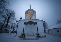 Christmas temple (Alex_Gubarev) Tags: christmas winter orthodoxy riussia bogoroditsk