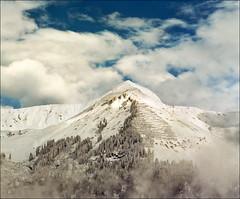 Winter morning (Katarina 2353) Tags: winter mountain snow alps film landscape switzerland nikon europe swiss katarinastefanovic katarina2353
