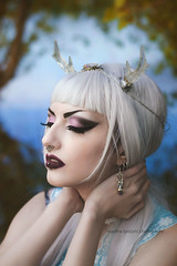 (martina.spoljaric1989) Tags: portrait woman lake girl fashion fairytale makeup elf fairy wonderland retouch