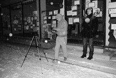 D.T., A.K. (Sareni) Tags: light people blackandwhite bw snow night tripod serbia january center snowing noc vojvodina twop srbija nighr sneg banat 2016 borovo svetlost centar alibunar crnobela stalak juznibanat sareni padasneg