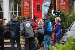 3. Final piece to camera 24th Jan 2016 (asdofdsa) Tags: liverpool walking bbc filming challenge humberbridge doncaster southyorkshire punchbowl thorne cyclerickshaw comedienne sportrelief jobrand jobrandsportreleif24thjan2016 gregwhyteobe