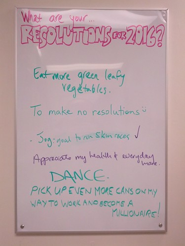Resolutions for 2016?