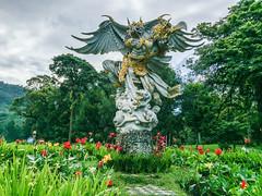 IMG_9731.jpg (Pete Finlay) Tags: bali statue indonesia id bedugul hindustatue baturiti balibotanicgarden