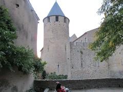 2010 09 08 Francia - Linguadoca Rossiglione - Carcassonne_0805 (Kapo Konga) Tags: francia castello carcassonne ferie languedocroussillon 2star citta cittamedievale