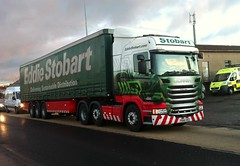 H2483 - PO65 VEU (Cammies Transport Photography) Tags: road truck jane lorry eddie veu sheila scania admiralty esl rosyth stobart eddiestobart r450 po65 h2483 po65veu