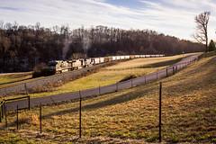 Sunset on the K&O (Peyton Gupton) Tags: railroad train tn knoxville ns tennessee clinton norfolk rail railway trains southern
