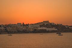 Ibiza! (Rocio Servera - Fotografa) Tags: sunset espaa seascape mediterraneo amanecer ibiza cielo headlight naranja belleza sunsetpolis
