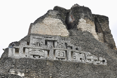 San Jose Succotz - El Castillo Bas Relief