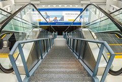 Long way down at O'hare airport (TAC.Photography) Tags: stairs ohare goingdown