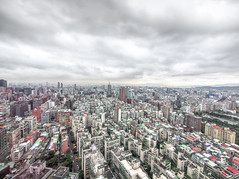 Taipei Xinyi District (NATE_CHEN) Tags: urban building skyline architecture cityscape streetphotography  714mm olympusem5