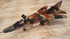Mikoyan-Gurevich MiG-23M Flogger-B - 1 (Kenneth-V) Tags: cold scale plane airplane model war fighter lego aircraft aviation military air indoor planes finished flogger airforce russian mig 136 gurevich mikoyan mig23 moc floggerb mig23m