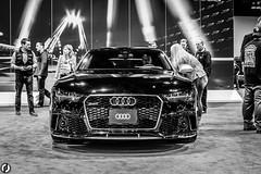 2016 Audi RS Quattro Tiptronic (FitzJohnson) Tags: blackandwhite bw monochrome wheel blackwhite automobile nebraska wheels monochromatic headlights bumper omaha audi carshow taillights carphotography fastcar audiquattro audirs centurylink centurylinkcenteromaha