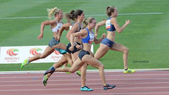 Giving 100 per cent - women's 100 metre C race Canberra Track Classic 2016 (tree.twisted) Tags: race athletics canberra athlete sprint trackandfield 2016 100percent athleticsaustralia athleticsact canberratrackclassic2016
