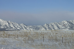 snow dusted prairie (Thunder and Lights) Tags: snow mountains colorado snowy front boulder prairie range