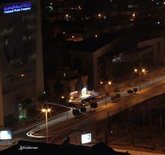 Light Trails (haidarism (Ahmed Alhaidari)) Tags: bridge light art night artistic outdoor creative trail creation create riyadh saudiarabia lighttrail