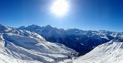 La Plagne - La Grande Rochette (Cedric Biennais) Tags: mountain snow france alps montagne alpes french la soleil grande centre cedric neige savoie 73 plagne paradiski rochette biennais