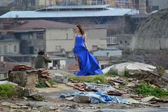DSC_1507 (zeynepcos) Tags: blue roof fashion model photoshoot istanbul eminonu tahtakale bykvalidehan
