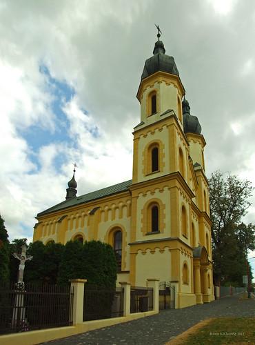 Bardejov 2013 - Gréckokatolícka cirkev panorama