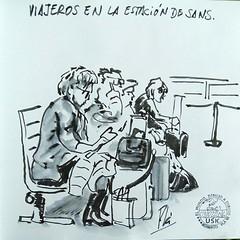 Sans (Fotero) Tags: sketch wash pluma dibujo usk tinta cuaderno viajeros lavado estilografica urbansketchers cuaderno9