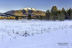 Humphreys Peak (HarryB101) Tags: arizona snow mountains canon northernarizona snowcap humphreyspeak flagstaffarizona topazlabs canoneos6d topazdenoise topazglow