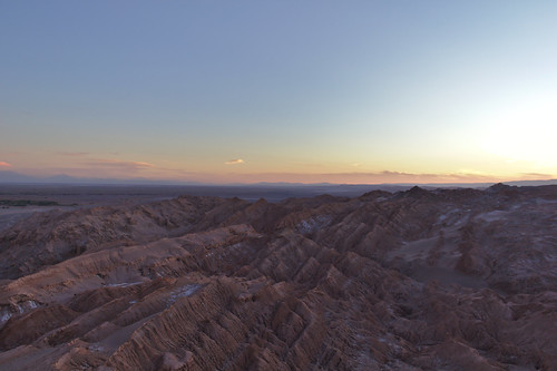 Sunset at Valle de la Luna