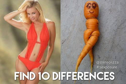 10 Differences - Stereolizza Sexposure Meme