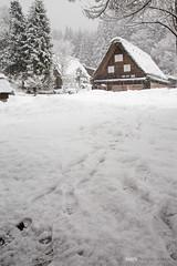 白川鄉合掌村 (Ian's) Tags: snow japan winterwonderland 合掌村 白川鄉合掌造り