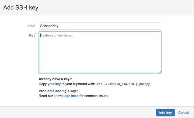 [Git] Bitbucket SSH Key