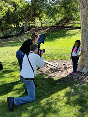 BTS shot #9 - Mothers and Children Meetup Group - 3/12/16 (SJS Photog) Tags: park creek portraits children photography photoshoot meetup mothers lamirada bts
