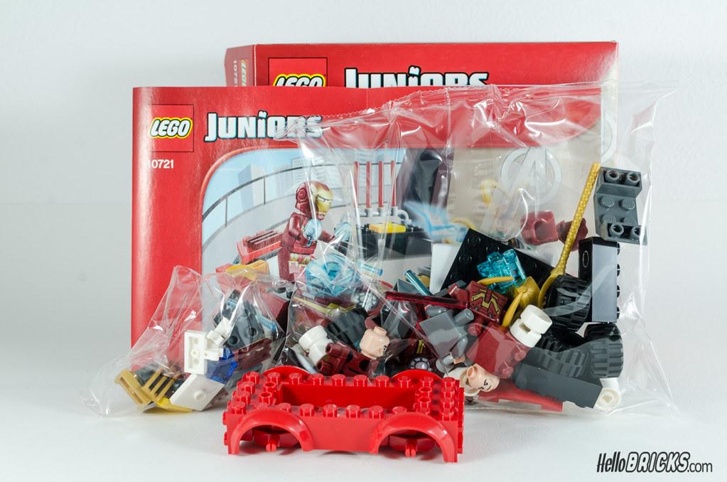 REVIEW LEGO 10721 Juniors Iron Man vs Loki (hello_bricks) Tags: lego review  ironman
