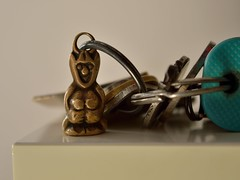 Charming Inheritance - HMM (robjvale) Tags: travel keys nikon keychain driving charm safety grandparents imp inheritance luckycharm d3200 macromonday