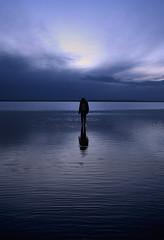 Doppler (naturalminer) Tags: sky woman girl clouds turkey evening ankara touching abstact