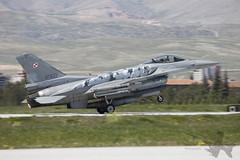 General Dynamics F-16C 4060 (Newdawn images) Tags: plane turkey airplane fighter aircraft aviation military jet aeroplane falcon viper jetfighter konya ntm generaldynamics fightingfalcon militaryjet f16c canonef100400mmf4556lisusm 4060 polishairforce natotigermeet canoneos5dmarkii