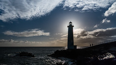 Phare - Vieux Fort - [Guadeloupe] (Old Jhack) Tags: france backlight ombre shade caribbean phare contrejour guadeloupe antilles carabes basseterre vieuxfort merdescarabes tokina1116mmf28 partagedeseaux