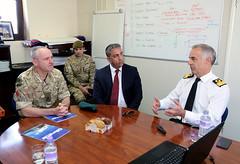 Visita oficial del Gobernador al Puerto de Gibraltar