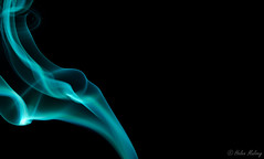 Smoke 12Mar16 3 (Helen Mulvey) Tags: colour smoke indoor incense offcameraflash