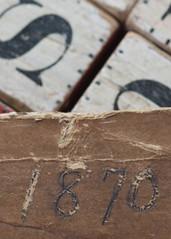 Old Wooden Block (NedraI) Tags: old macro toy wooden antique blocks block alphabet inheritance 1870