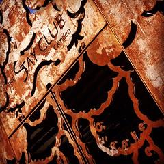 image (Kathi Huidobro) Tags: urban london texture architecture bar facade restaurant rust architecturaldetail gates camden metalwork ironwork camdentown londonstreets londonbuildings architecturalfinish stayclubcamden