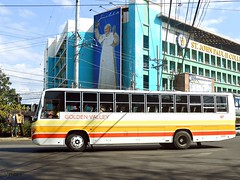 Golden Valley 107 (Monkey D. Luffy 2) Tags: road bus public photography photo nikon philippines transport vehicles transportation coolpix vehicle society hino pilipinas philippine isuzu enthusiasts partex philbes