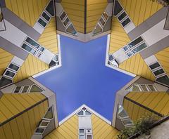 Cubestar (Erik0067) Tags: holland netherlands architecture modern rotterdam experimental blaak cube sixties kubus cubehouses kubuswoningen