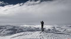 Shooting White... (bent inge) Tags: winter snow norway march photographer skiing telemark snowymountains hardangervidda haukeli 2016 vinje vgsli norwegianmountains nikond810 norwegianwinter bentingeask