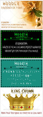 Hoodle Font (vndorstock) Tags: shadow college sport tattoo modern vintage poster athletic tech display snake decorative grunge wide machine line used headline headlines font techno python washed effect exclusive bold typeface ttf truetype