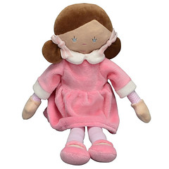 Louise the French Doll (initial_impressions) Tags: embroidered personalized babysfirstdoll louisethefrenchdoll allfabricdoll