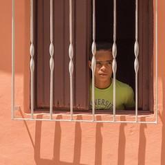 Barred (Chris Willis 10) Tags: people cuba cuban trindad