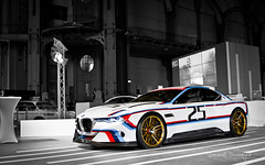 Hommage R (Raph/D) Tags: auto blue red white paris colors car 30 canon lens eos gold tour zoom unique grand m german prototype r 7d bmw works palais l series motor concept laguna hommage seca catchy csl sportscar motorsport bavarian bayerische proto lightroom 2016 lseries 2470mm motoren werks canoneos7d ef2470mmf28liiusm